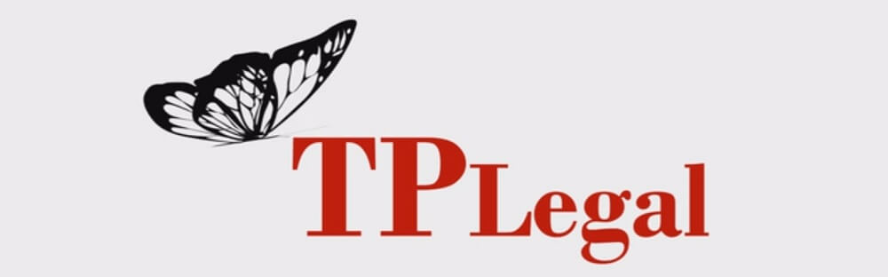 TP Legal logo animation